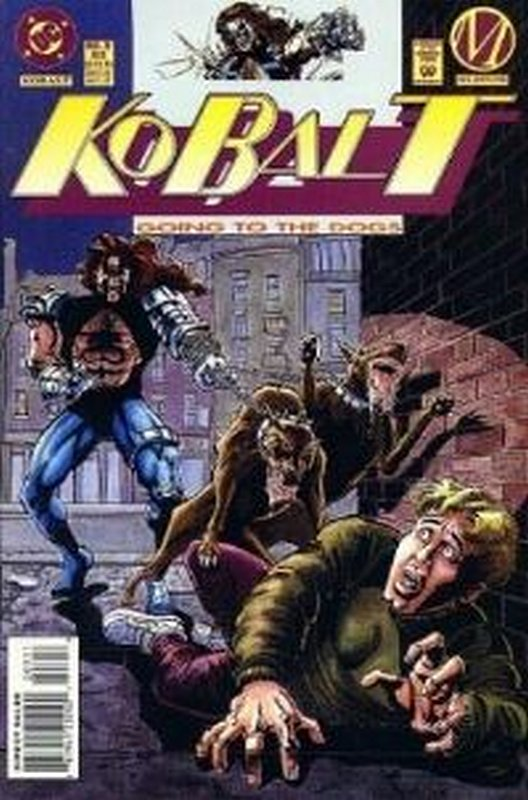 Cover of Kobalt (Vol 1) #3. One of 250,000 Vintage American Comics on sale from Krypton!