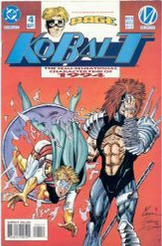 Cover of Kobalt (Vol 1) #4. One of 250,000 Vintage American Comics on sale from Krypton!