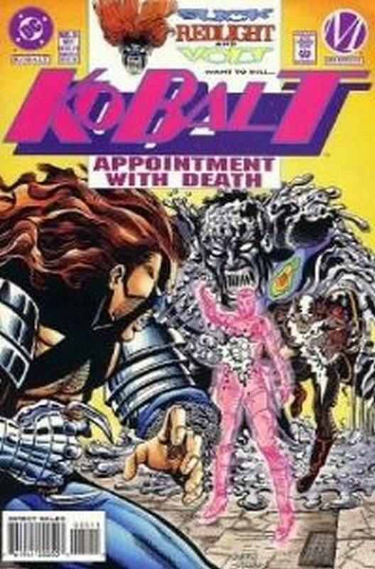 Cover of Kobalt (Vol 1) #5. One of 250,000 Vintage American Comics on sale from Krypton!