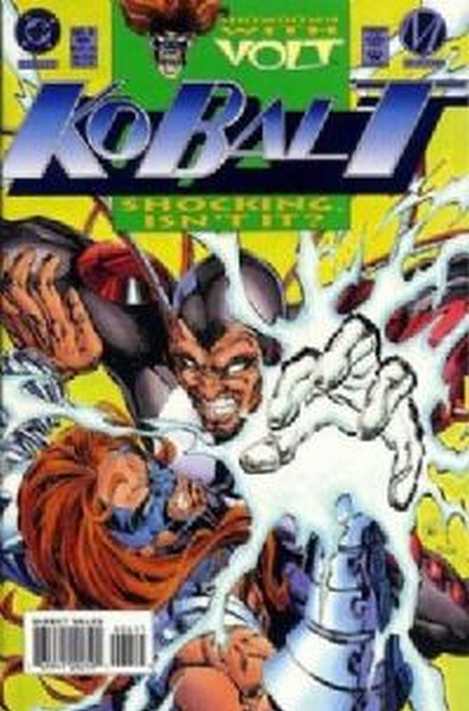 Cover of Kobalt (Vol 1) #6. One of 250,000 Vintage American Comics on sale from Krypton!