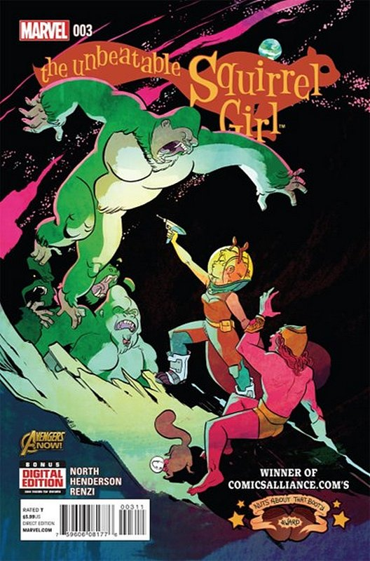 Cover of Unbeatable Squirrel Girl (Vol 1) #3. One of 250,000 Vintage American Comics on sale from Krypton!