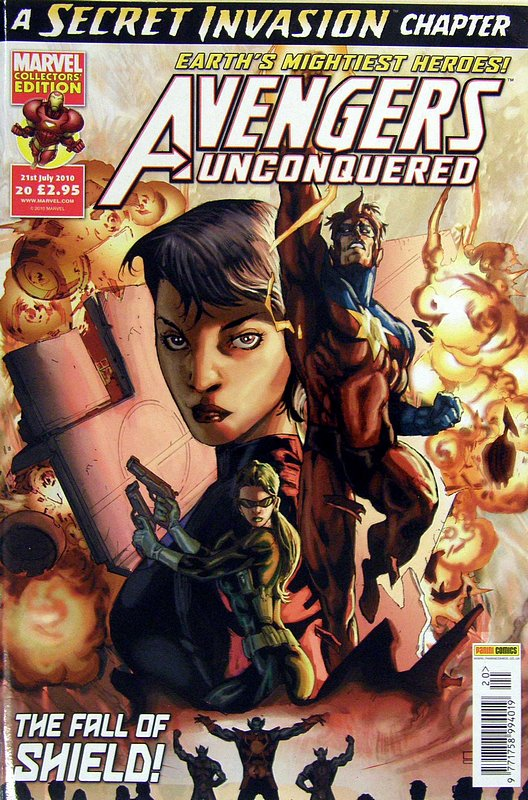 Cover of Avengers Unconquered (Vol 1) (UK) #20. One of 250,000 Vintage American Comics on sale from Krypton!