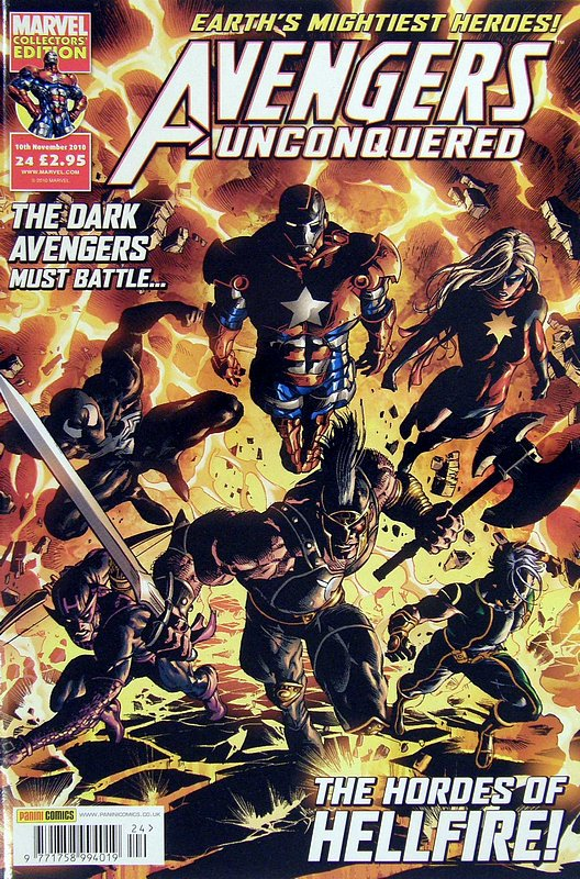 Cover of Avengers Unconquered (Vol 1) (UK) #24. One of 250,000 Vintage American Comics on sale from Krypton!