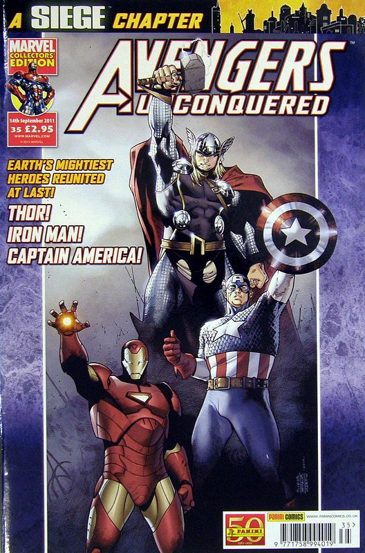 Cover of Avengers Unconquered (Vol 1) (UK) #35. One of 250,000 Vintage American Comics on sale from Krypton!