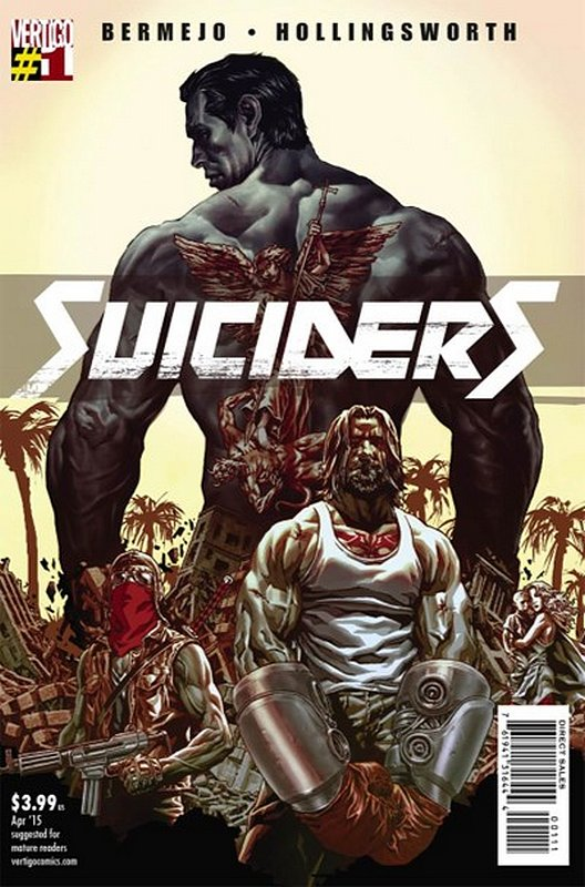 Cover of Suiciders (Vol 1) #1. One of 250,000 Vintage American Comics on sale from Krypton!