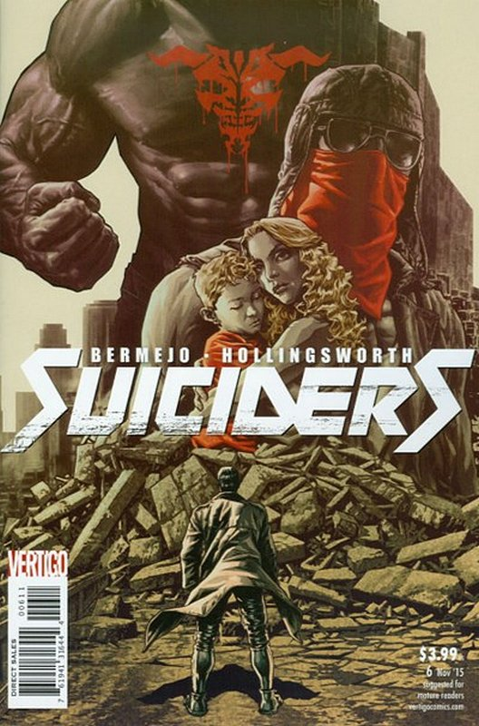 Cover of Suiciders (Vol 1) #6. One of 250,000 Vintage American Comics on sale from Krypton!