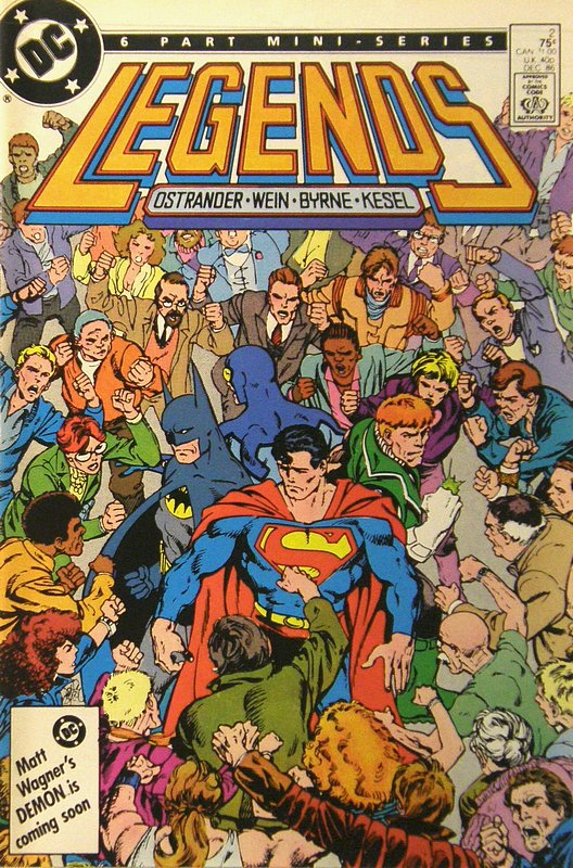 Cover of Legends (1986 Ltd) #2. One of 250,000 Vintage American Comics on sale from Krypton!
