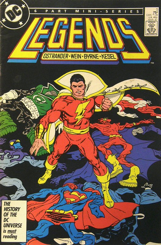 Cover of Legends (1986 Ltd) #5. One of 250,000 Vintage American Comics on sale from Krypton!