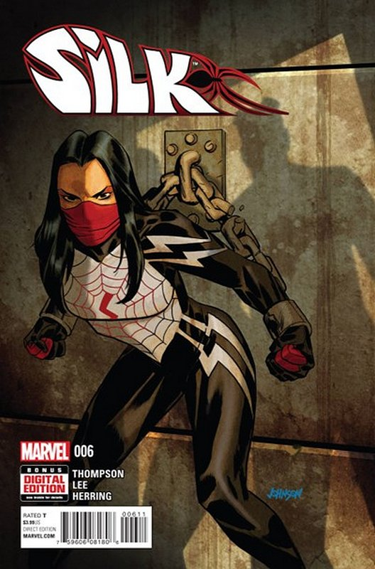 Cover of Silk (Vol 1) (Marvel) #6. One of 250,000 Vintage American Comics on sale from Krypton!