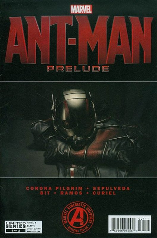 Cover of Ant-Man Prelude (2015 Ltd) #1. One of 250,000 Vintage American Comics on sale from Krypton!
