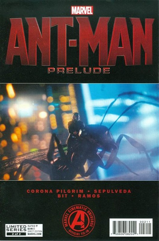 Cover of Ant-Man Prelude (2015 Ltd) #2. One of 250,000 Vintage American Comics on sale from Krypton!