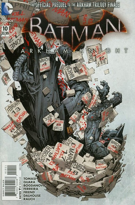 Cover of Batman: Arkham Knight (Vol 1) #10. One of 250,000 Vintage American Comics on sale from Krypton!