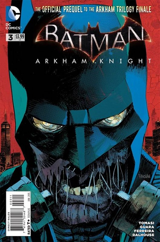 Cover of Batman: Arkham Knight (Vol 1) #3. One of 250,000 Vintage American Comics on sale from Krypton!
