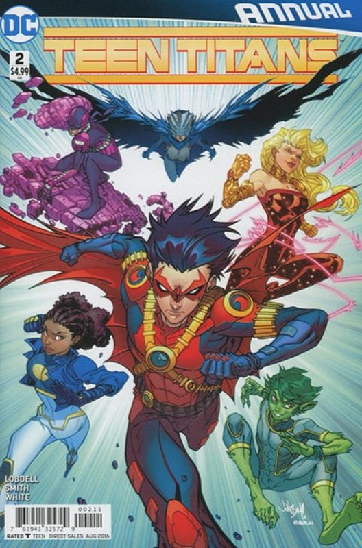 Cover of Teen Titans Annual (2015) #2. One of 250,000 Vintage American Comics on sale from Krypton!