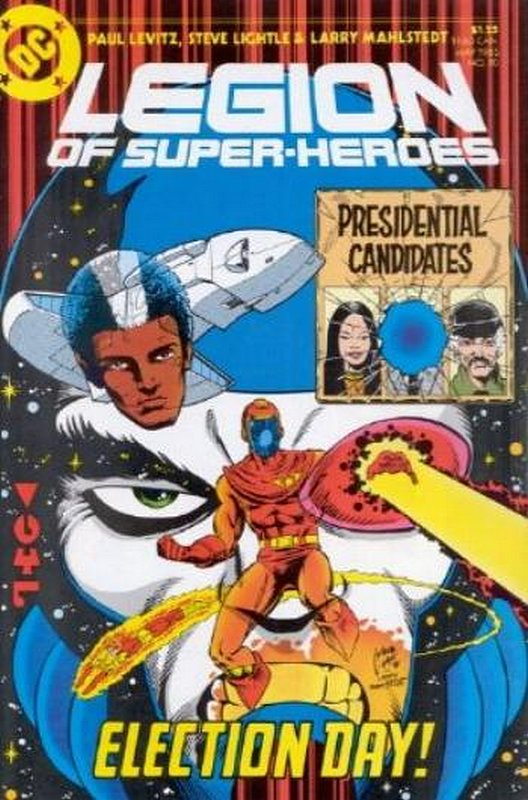 Cover of Legion of Super-Heroes (Vol 2) #10. One of 250,000 Vintage American Comics on sale from Krypton!