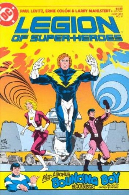 Cover of Legion of Super-Heroes (Vol 2) #11. One of 250,000 Vintage American Comics on sale from Krypton!