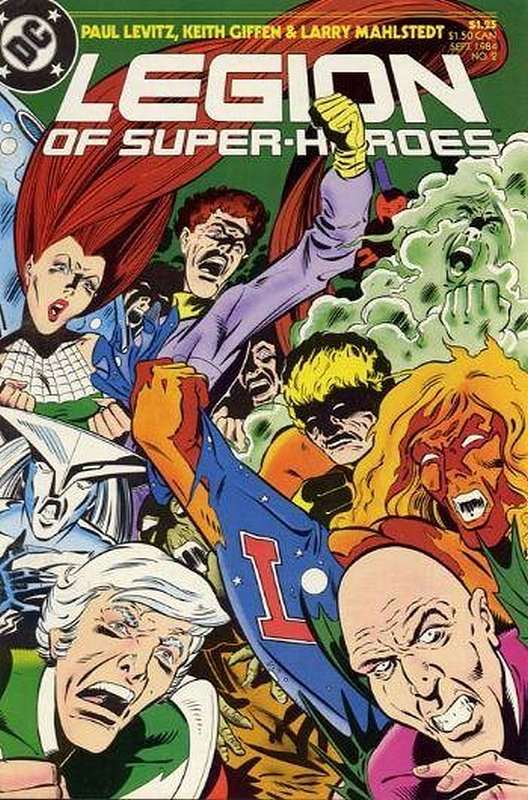 Cover of Legion of Super-Heroes (Vol 2) #2. One of 250,000 Vintage American Comics on sale from Krypton!