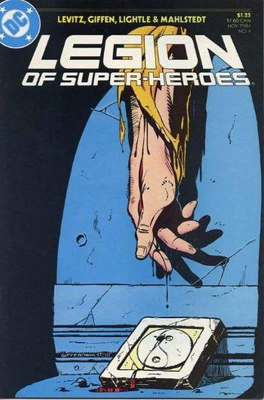 Cover of Legion of Super-Heroes (Vol 2) #4. One of 250,000 Vintage American Comics on sale from Krypton!