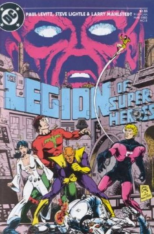 Cover of Legion of Super-Heroes (Vol 2) #8. One of 250,000 Vintage American Comics on sale from Krypton!