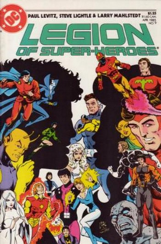 Cover of Legion of Super-Heroes (Vol 2) #9. One of 250,000 Vintage American Comics on sale from Krypton!