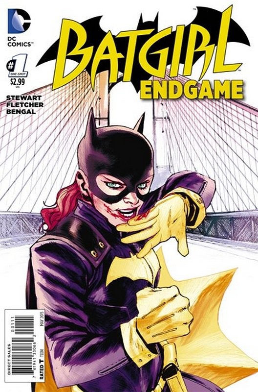 Cover of Batgirl: Endgame (2015 One Shot) #1. One of 250,000 Vintage American Comics on sale from Krypton!