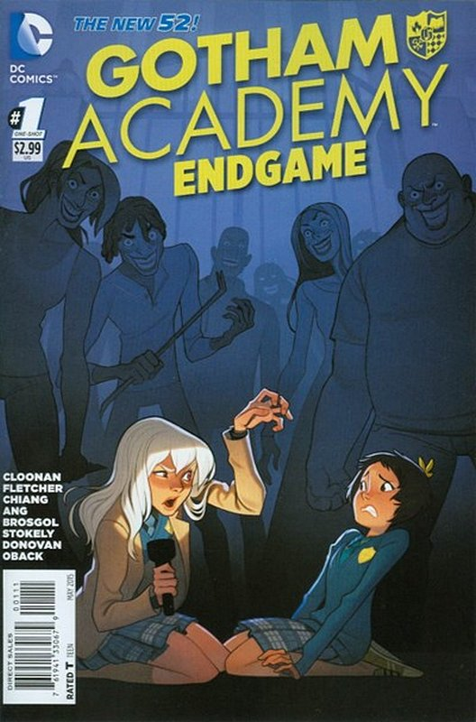 Cover of Gotham Academy: Endgame (2015 One Shot) #1. One of 250,000 Vintage American Comics on sale from Krypton!