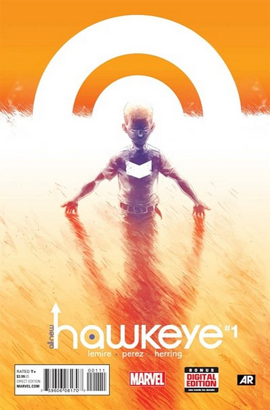 Cover of Hawkeye, All-New (Vol 1) #1. One of 250,000 Vintage American Comics on sale from Krypton!