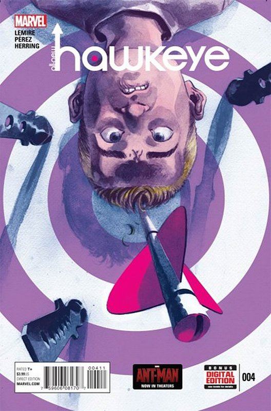 Cover of Hawkeye, All-New (Vol 1) #4. One of 250,000 Vintage American Comics on sale from Krypton!