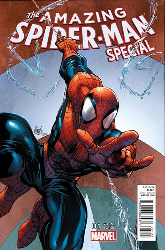 Cover of Amazing Spider-Man Special (2015 One Shot) #1. One of 250,000 Vintage American Comics on sale from Krypton!