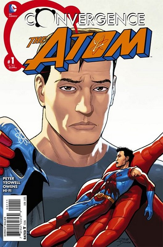 Cover of Convergence: Atom (2015 Ltd) #1. One of 250,000 Vintage American Comics on sale from Krypton!