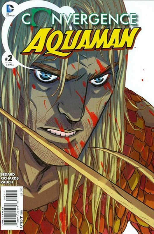 Cover of Convergence: Aquaman (2015 Ltd) #2. One of 250,000 Vintage American Comics on sale from Krypton!