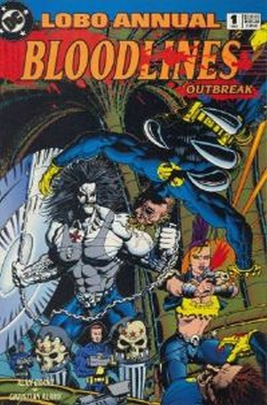 Cover of Lobo Annual (1993-1995) #1. One of 250,000 Vintage American Comics on sale from Krypton!
