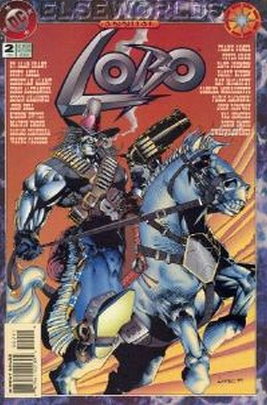 Cover of Lobo Annual (1993-1995) #2. One of 250,000 Vintage American Comics on sale from Krypton!