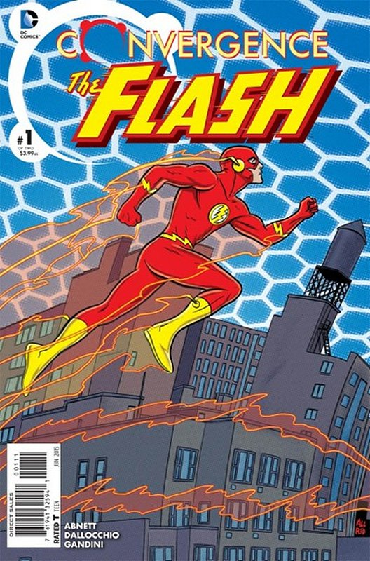 Cover of Convergence: Flash (2015 Ltd) #1. One of 250,000 Vintage American Comics on sale from Krypton!