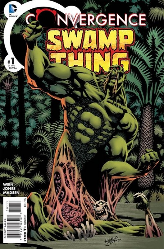 Cover of Convergence: Swamp Thing (2015 Ltd) #1. One of 250,000 Vintage American Comics on sale from Krypton!