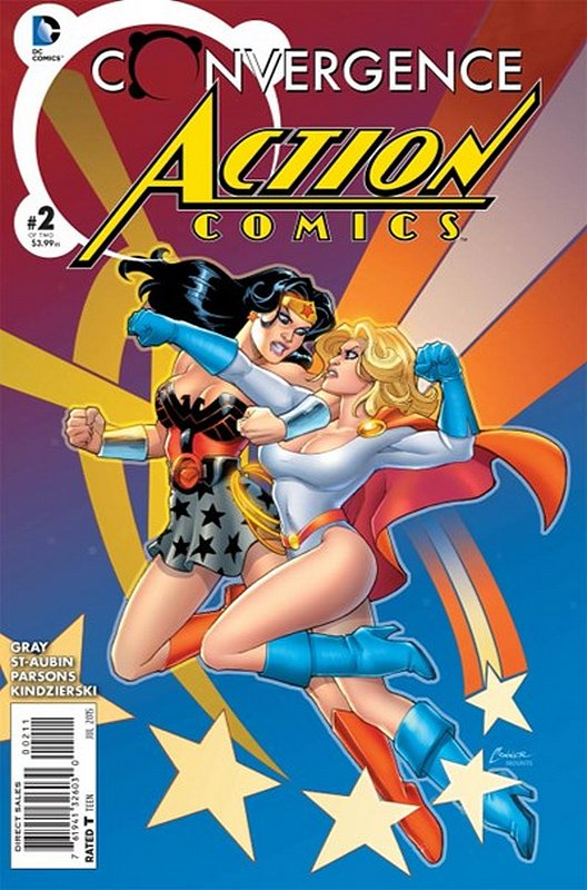 Cover of Convergence: Action Comics (2015 Ltd) #2. One of 250,000 Vintage American Comics on sale from Krypton!
