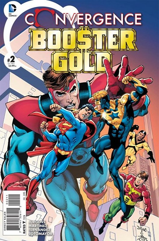 Cover of Convergence: Booster Gold (2015 Ltd) #2. One of 250,000 Vintage American Comics on sale from Krypton!