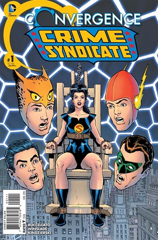 Cover of Convergence: Crime Syndicate (2015 Ltd) #1. One of 250,000 Vintage American Comics on sale from Krypton!