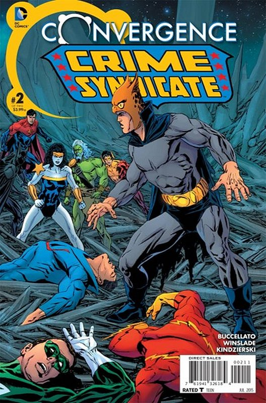 Cover of Convergence: Crime Syndicate (2015 Ltd) #2. One of 250,000 Vintage American Comics on sale from Krypton!