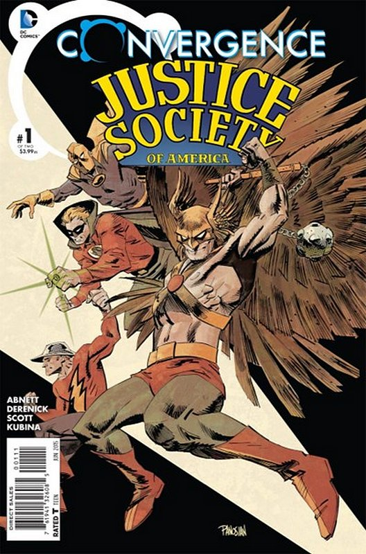 Cover of Convergence: Justice Society of America (2015 Ltd) #1. One of 250,000 Vintage American Comics on sale from Krypton!