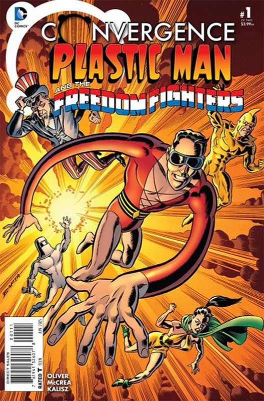 Cover of Convergence: Plastic Man Freedom Fighters #1. One of 250,000 Vintage American Comics on sale from Krypton!