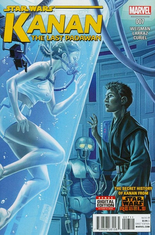 Cover of Kanan:The Last Padawan (Vol 1) #7. One of 250,000 Vintage American Comics on sale from Krypton!