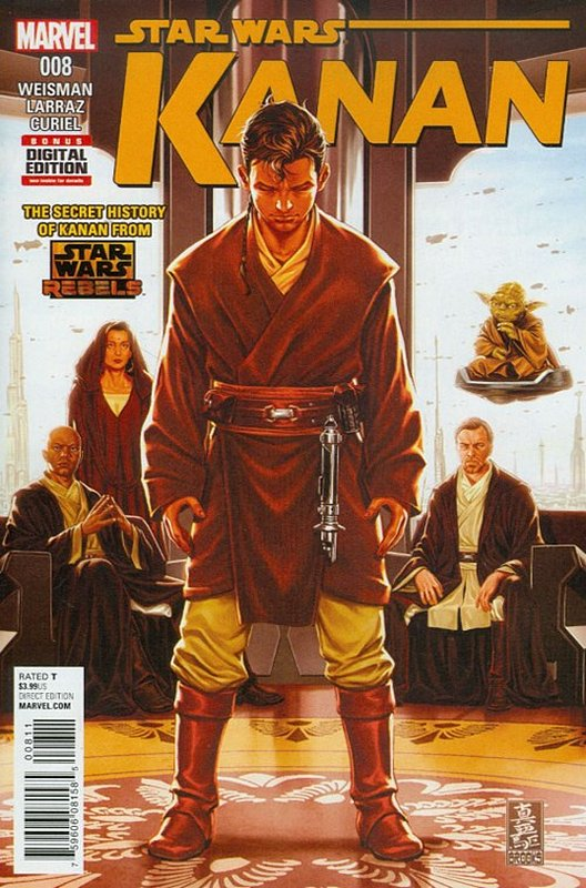 Cover of Kanan:The Last Padawan (Vol 1) #8. One of 250,000 Vintage American Comics on sale from Krypton!
