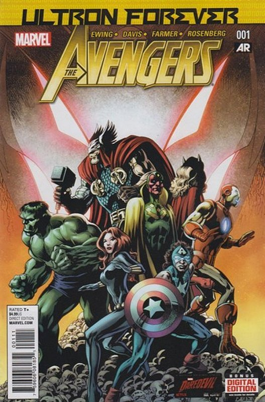 Cover of Avengers: Ultron Forever (2015 One Shot) #1. One of 250,000 Vintage American Comics on sale from Krypton!