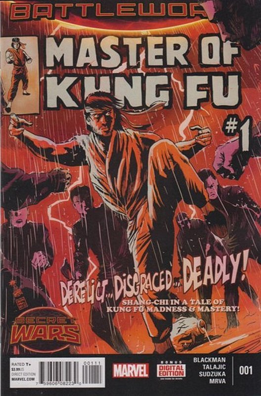 Cover of Master of Kung Fu (2015 Ltd) #1. One of 250,000 Vintage American Comics on sale from Krypton!