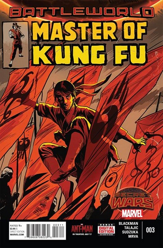 Cover of Master of Kung Fu (2015 Ltd) #3. One of 250,000 Vintage American Comics on sale from Krypton!