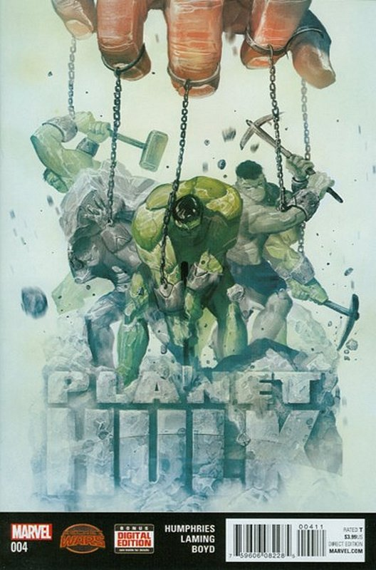 Cover of Planet Hulk (2015 Ltd) #4. One of 250,000 Vintage American Comics on sale from Krypton!