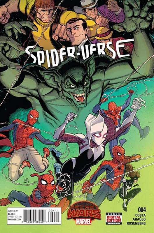 Cover of Spider-Verse (Vol 1) #4. One of 250,000 Vintage American Comics on sale from Krypton!