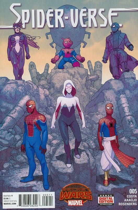 Cover of Spider-Verse (Vol 1) #5. One of 250,000 Vintage American Comics on sale from Krypton!