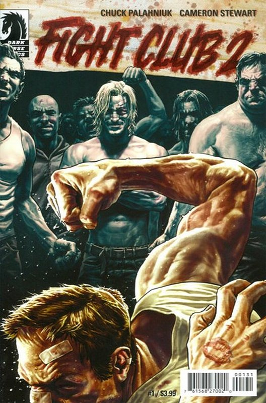 Cover of Fight Club 2 #1. One of 250,000 Vintage American Comics on sale from Krypton!